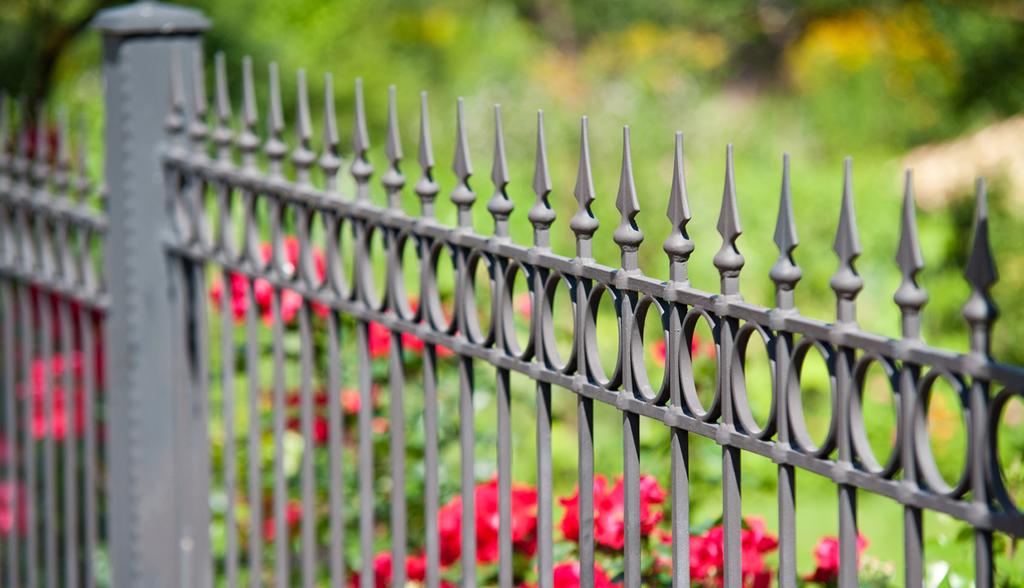 Decrative Iron Fence Styles