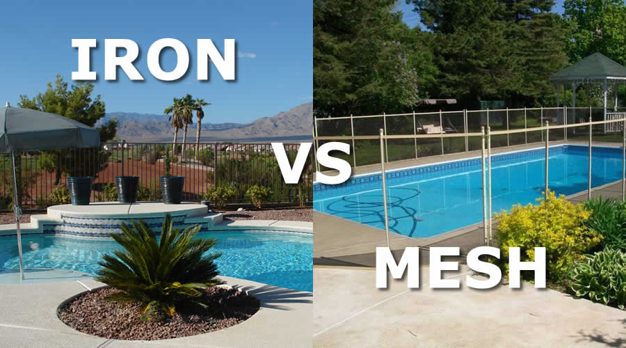 Mesh Vs Iron Pool Fence Pool Fence Guide