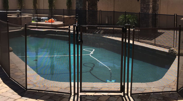 Mesh Pool Fence Brands
