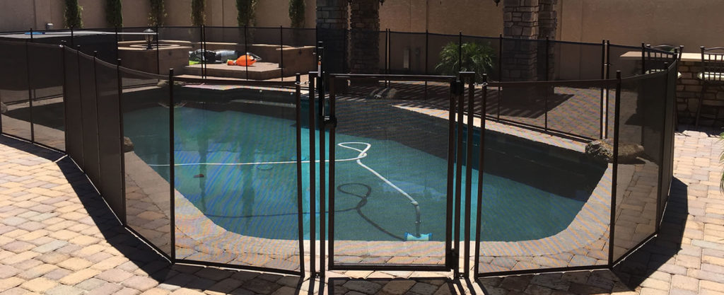 Mesh Pool Fence Brands