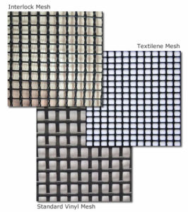 types of mesh fabric