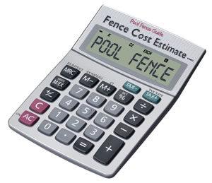 Pool Fence Cost Estimate Calculator