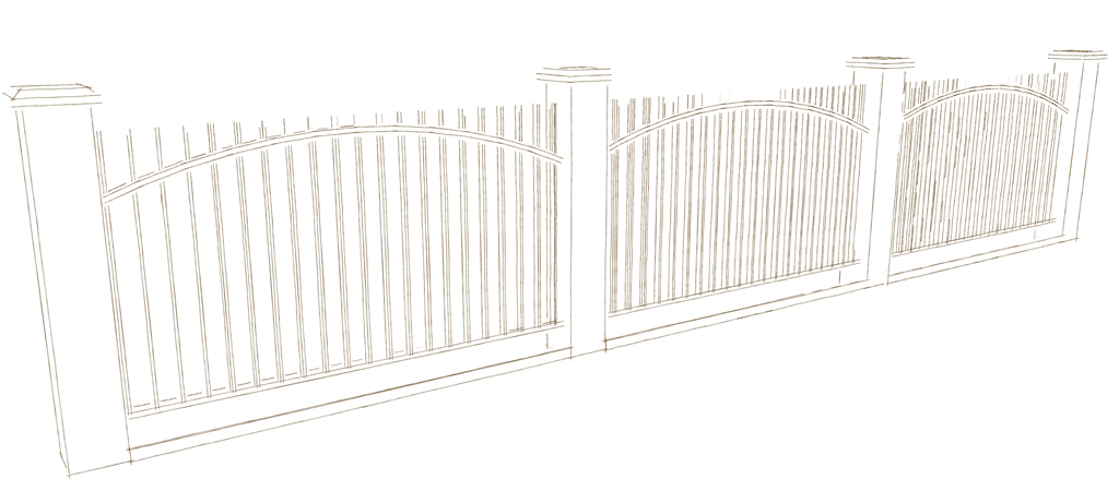 Types of Iron Fence Material